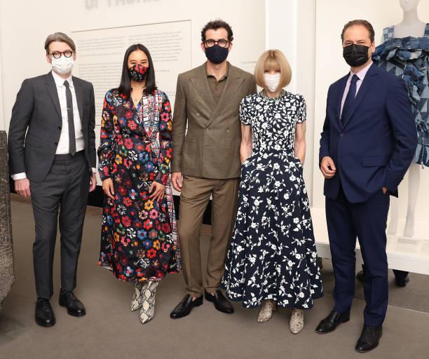 "NY: The Costume Institute's ""In America: A Lexicon Of Fashion"" Exhibition Press Preview"