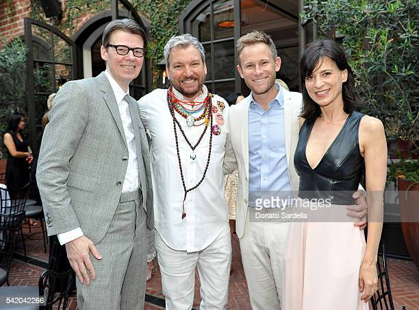 Andrew Bolton Johnson Hartig Aaron EndressFox and Perrey Reeves attend as Susan Casden and Friends of The Costume Institute The Metropolitan Museum...