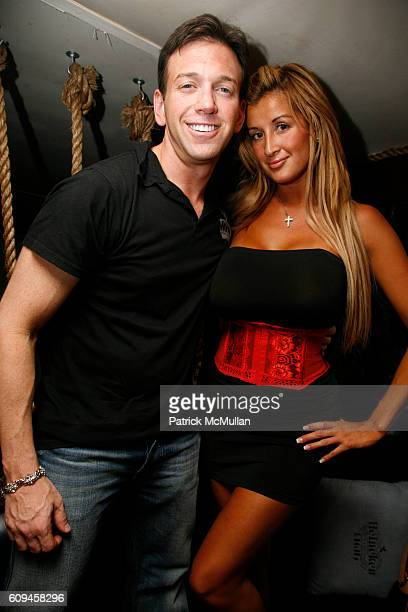 Andrew Borrok and Alex attend MISSY ELLIOTT'S Birthday and the Launch of the HEINEKEN PREMIUM LIGHT CAN at DUNE on June 30 2007 in Southampton NY
