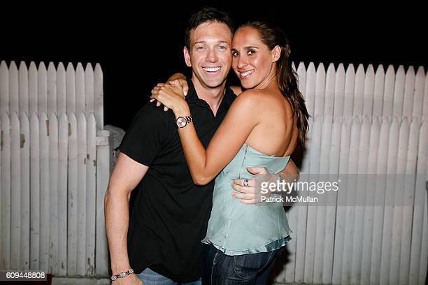 Andrew Borrok and Jayma Cardoso attend MISSY ELLIOTT'S Birthday and the Launch of the HEINEKEN PREMIUM LIGHT CAN at DUNE on June 30 2007 in...