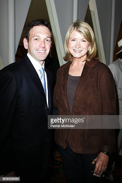 Andrew Borrok and Martha Stewart attend MARTHA STEWART SIRIO MACCIONI and ANDREW BORROK Host a Lucheon to Celebrate 'NO RESERVATIONS' at Le Cirque on...