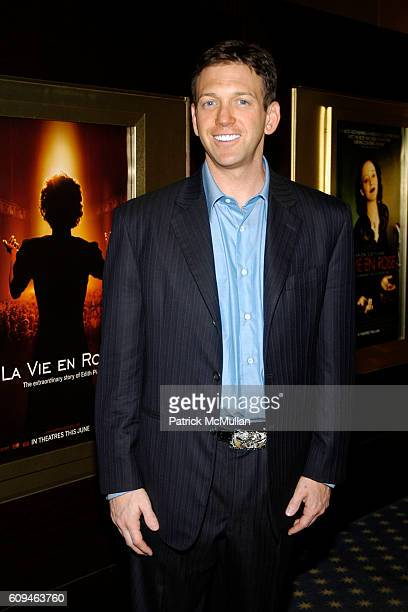 Andrew Borrok attends LA VIE EN ROSE Screening and Dinner Party at 1350 6 ave The Hotel Plaza Athenee on June 7 2007 in New York City