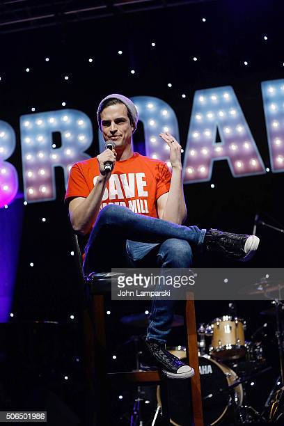 Andrew Briedis attends BroadwayCon 2016 at the Hilton Midtown on January 23 2016 in New York City