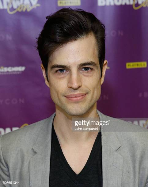 Andrew Briedis attends BroadwayCon 2016 at the Hilton Midtown on January 24 2016 in New York City