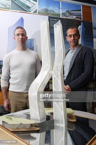 Andrew Bromberg Director of Aedas with Keith Griffiths Chairman of Aedas are architects at Aedas 1063 King's Road Quarry Bay 03 August 2006