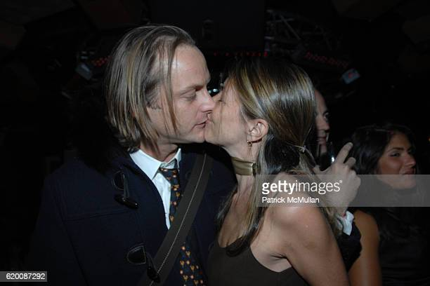 Andrew Brunger and Sally Randall Brunger attend Celebrate Valentines Day with Patrick McMullan Ally Hilfiger Izzy Gold For Cocktails Love at Kiss Fly...