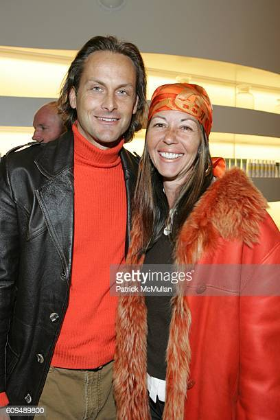 Andrew Brunger and Sally Randall Brunger attend Launch Party for Arrojo Product at Drom Fragrances International on January 10 2007 in New York City