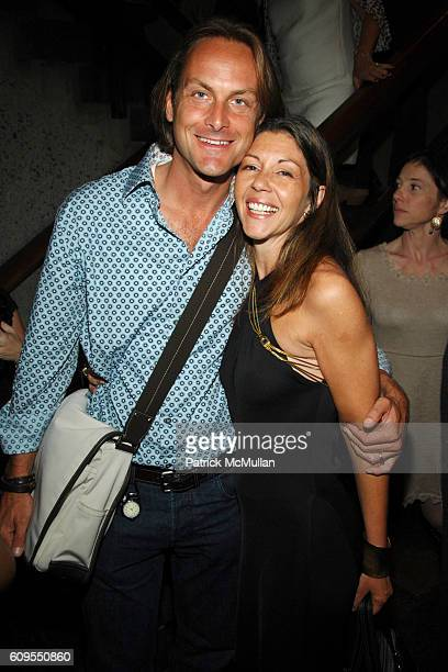 Andrew Brunger and Sally Randall Brunger attend MAYBELLINE NEW YORK Book Launch Party for PATRICK McMULLAN's new book GLAMOUR GIRLS at Whitney Museum...
