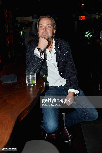 Andrew Brunger attends Andrea Greeven Douzet's Birthday Celebration at The Tuck Room on October 19 2016 in New York City