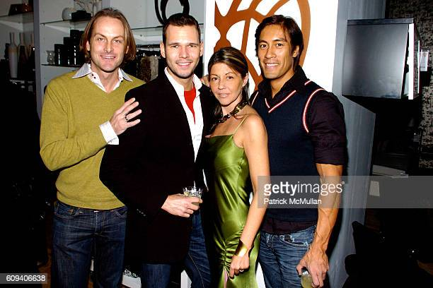Andrew Brunger Bill Everding Sally Randall Brunger and Brian Pelago attend KolDesign/BoConcept 5th Annual Holiday Party at BoConcept on December 11...
