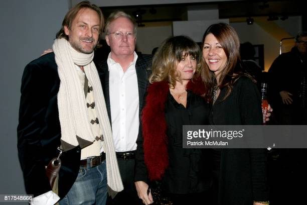Andrew Brunger Gil Donaldson Patti D'Arbanville and Sally Randall Brunger attend 8th Annual BoCONCEPT/KOLDESIGN Holiday Party at Bo Concept Madison...