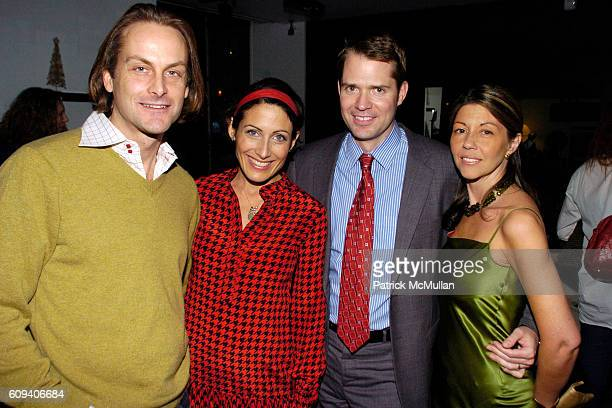 Andrew Brunger Lisa Edelstein Lincoln Palsgrove IV and Sally Randall Brunger attend KolDesign/BoConcept 5th Annual Holiday Party at BoConcept on...
