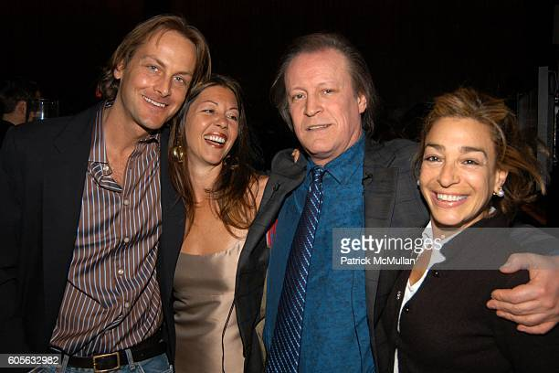 Andrew Brunger Salley Randalll Brunger Patrick McMullan and Fran Moss attend MAYBELLINE NEW YORK hosts the Launch of PATRICK MCMULLAN's Kiss Kiss...