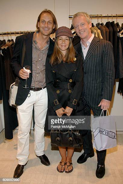 Andrew Brunger Sally Randall Brunger and Michael Rawson attend CFDA DIANE VON FURSTENBERG and CHARLIE SCHEIPS Celebrate 'AMERICAN FASHION at Bergdorf...