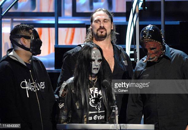 Andrew Bryniarski and Slipknot presenters