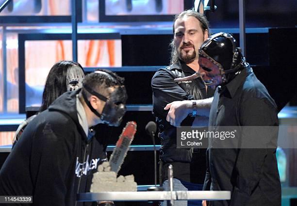 Andrew Bryniarski and Slipknot presenters