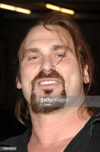 Andrew Bryniarski during Fuse Fangoria Chainsaw Awards Black Carpet at Orpheum Theatre in Los Angeles California United States
