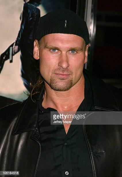 Andrew Bryniarski during 'Underworld' Premiere Hollywood at Mann's Chinese Theatre in Hollywood California United States