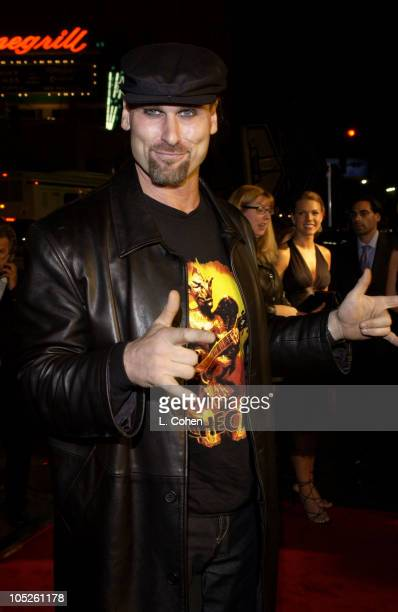 Andrew Bryniarski Leatherface during 'The Texas Chainsaw Masssacre' World Premiere Red Carpet at Mann's Chinese Theatre in Hollywood California...