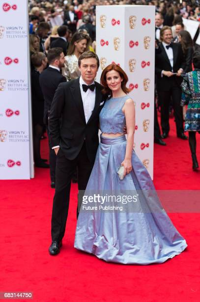 Andrew Buchan and Amy Nuttall attend the Virgin TV British Academy Television Awards ceremony at the Royal Festival Hall on May 14 2017 in London...