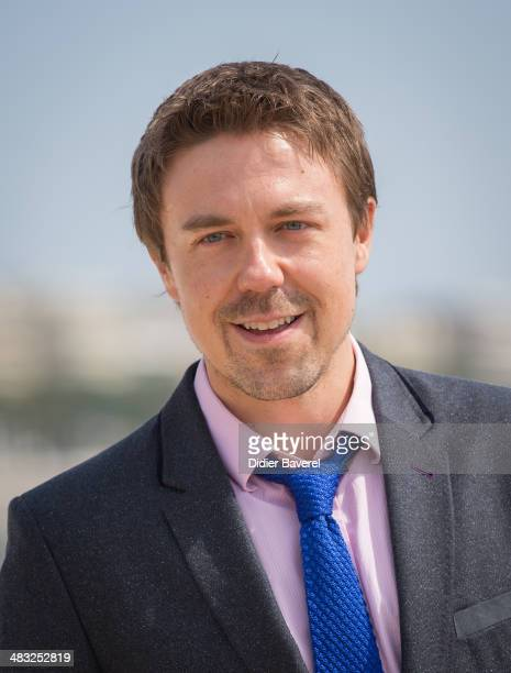 Andrew Buchan poses during the photocall of 'The Honourable Woman' at MIPTV 2014 at Hotel Majestic on April 7 2014 in Cannes France