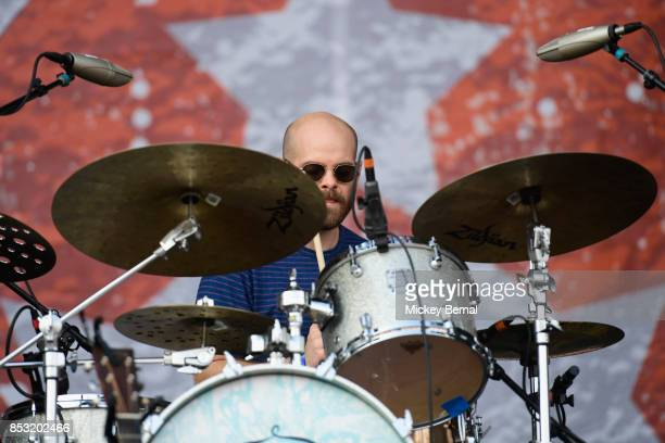 Andrew Campbell of The Revivalists performs during Pilgrimage Music Cultural Festival on September 24 2017 in Franklin Tennessee