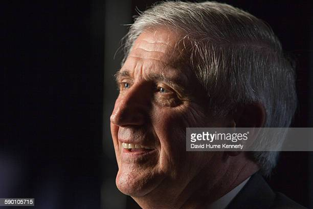 """Andrew Card, former White House Chief of Staff for President George W. Bush, is interviewed for 'The Presidents' Gatekeepers"""" documentary, October 12..."""