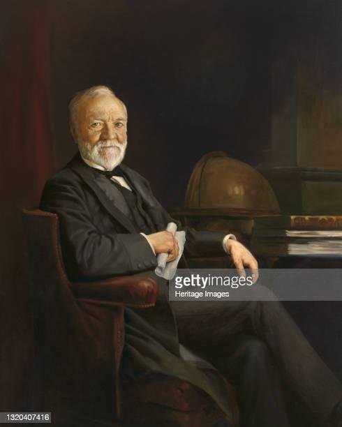Andrew Carnegie, circa 1905. Artist Unknown.
