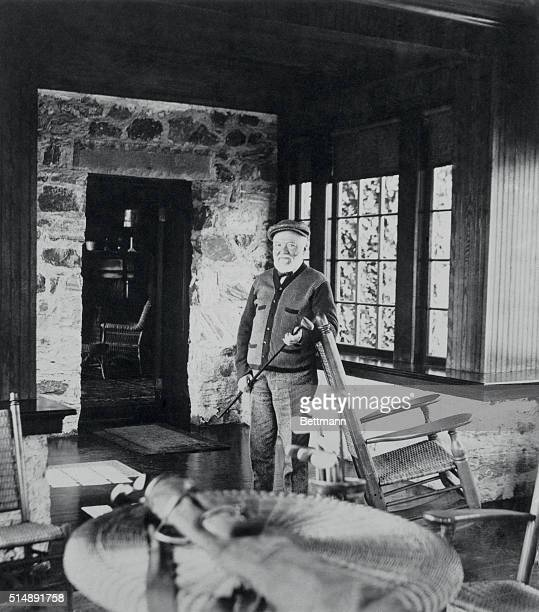 Andrew Carnegie in golf cottage near St Andrew's Golf Course