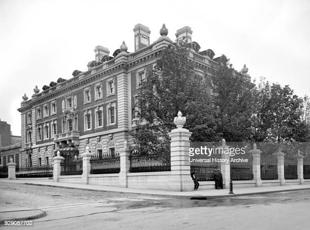 Andrew Carnegie Mansion New York City New York USA Detroit Publishing Company 1903