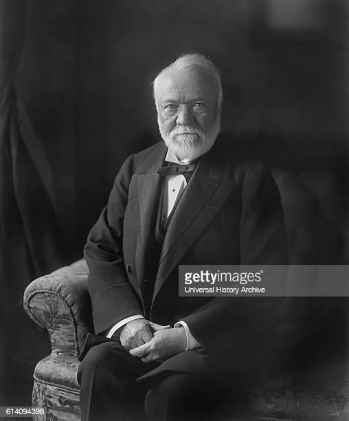 Andrew Carnegie Portrait circa 1910