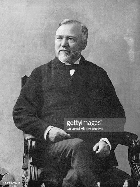 Andrew Carnegie ScottishAmerican industrialist and philanthropist Public Libraries After a photograph by Brady taken in the 1870s