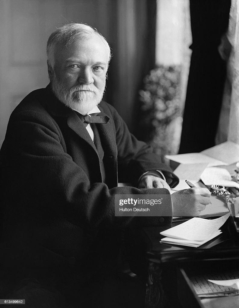 Andrew Carnegie : News Photo