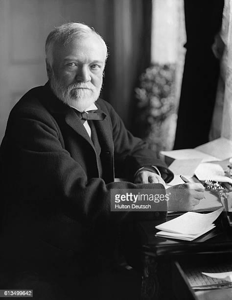 Andrew Carnegie the Scottishborn American industrialist and philanthropist