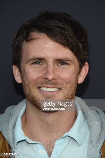 """Andrew Carter attends the Closing Night Screening of """"Nomis"""" during the 2018 LA Film Festival at ArcLight Cinerama Dome on September 28, 2018 in..."""