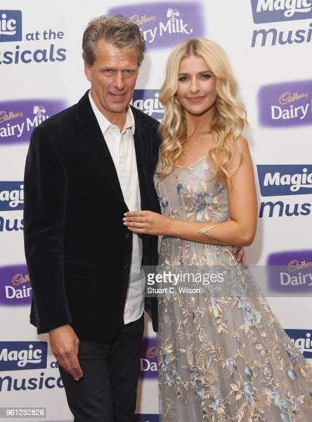 Andrew Castle and Georgina Castle attend Magic Radio's event 'Magic At The Musicals' held at Royal Albert Hall on May 21 2018 in London England
