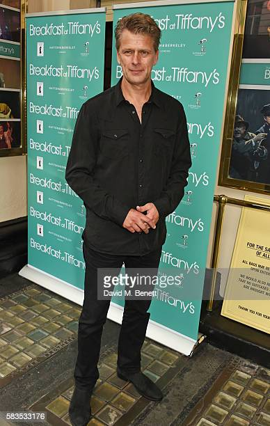 Andrew Castle arrives at the press night performance of 'Breakfast at Tiffany's' at the Theatre Royal Haymarket on July 26 2016 in London England