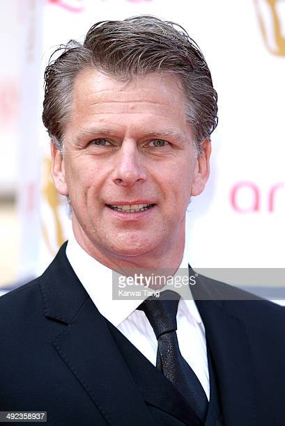 Andrew Castle attends the Arqiva British Academy Television Awards held at the Theatre Royal on May 18 2014 in London England