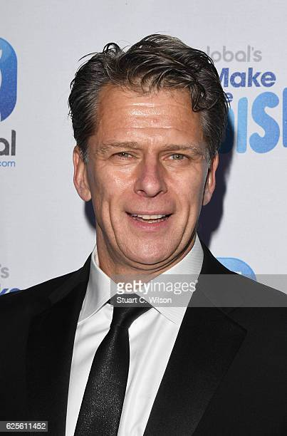 Andrew Castle attends the Global's Make Some Noise Night Gala at Supernova on November 24 2016 in London England