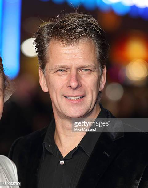 Andrew Castle attends the UK Premiere of Jack Ryan Shadow Recruit at Vue Leicester Square on January 20 2014 in London England