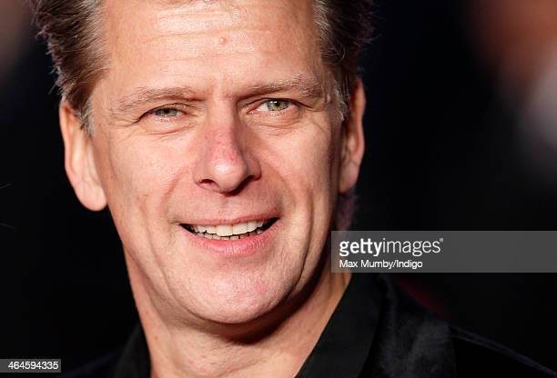 Andrew Castle attends the UK Premiere of 'Jack Ryan Shadow Recruit' at Vue Leicester Square on January 20 2014 in London England