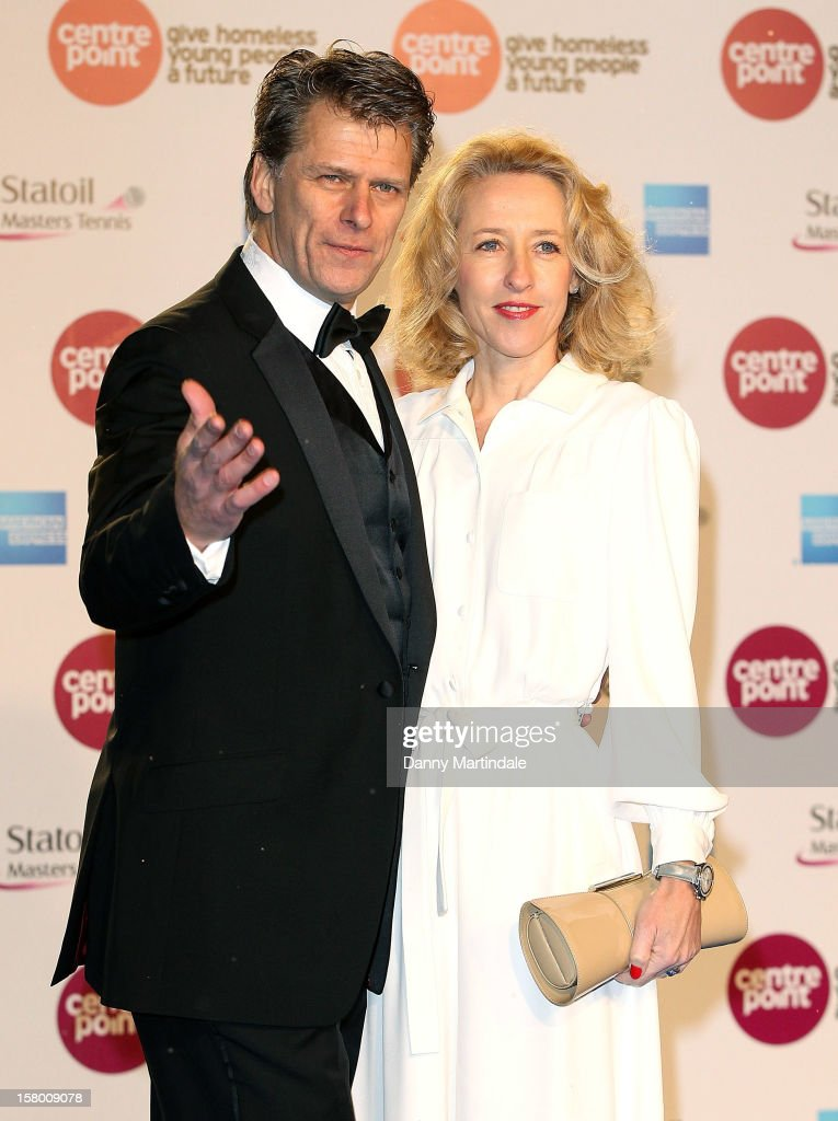 Andrew Castle attends the Winter Whites Gala at Royal Albert Hall on December 8, 2012 in London, England.