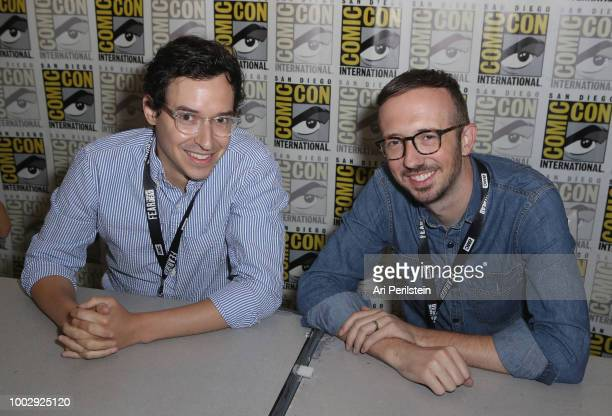 Andrew Chambliss and Ian Goldberg attend the 'Fear the Walking Dead' autograph signing with AMC during ComicCon International 2018 at San Diego...