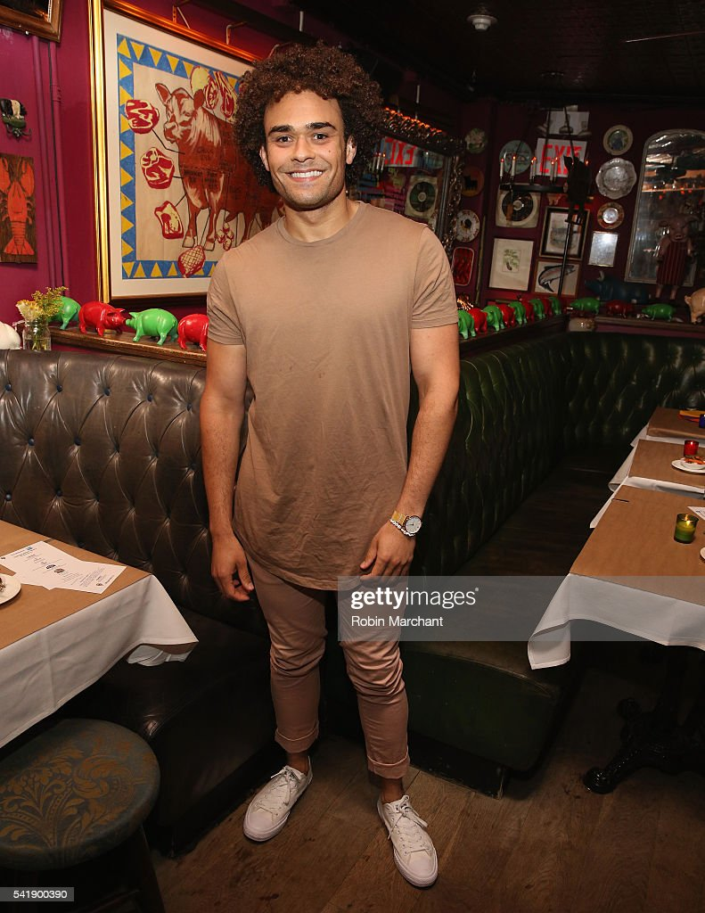 Andrew Chappelle attends American Express Launches National LGBTQ PRIDE Campaign To 'Express Love' at The Spotted Pig on June 20, 2016 in New York City.