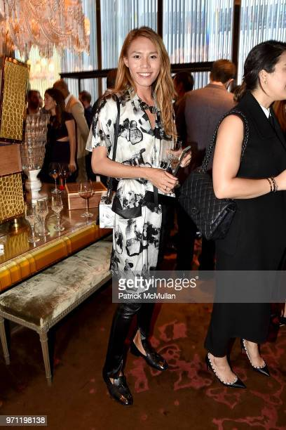 Andrew Chen attends Christopher R King Debuts New Luxury Brand CCCXXXIII at Baccarat Hotel on June 5 2018 in New York City