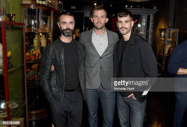 Andrew Cinnamon Kelsey Hall and Charlie Stackhouse attend A Night With Eli Halili on October 19 2017 in New York City