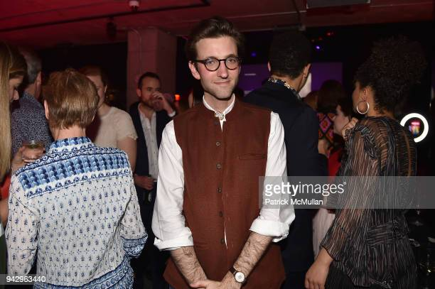 Andrew Cone attends the Spring Party to benefit Aperture and to celebrate The Photographer in the Garden at Public Hotel on April 6 2018 in New York...