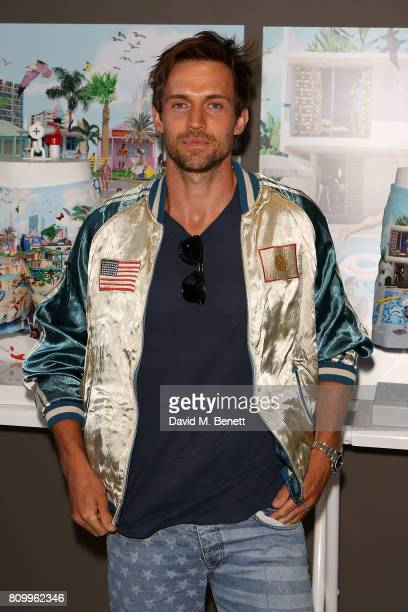 Andrew Cooper attends Orlebar Brown's 10th anniversary party at BB Italia on July 6 2017 in London England