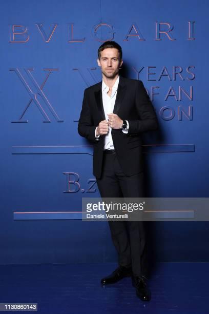 Andrew Cooper attends the Bvlgari BZERO1 XX Anniversary Global Launch Event at Auditorium Parco Della Musica on February 19 2019 in Rome Italy