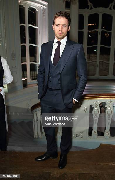 Andrew Cooper attends the dunhill Presentation during The London Collections Men AW16 at The Savile Club on January 10 2016 in London England